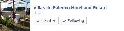 Villas de Palermo Hotel's Facebook Page